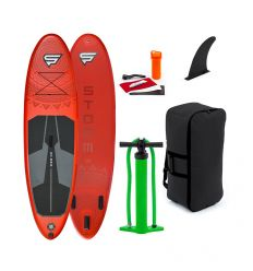 """STX Storm Freeride 9'10"""" Red 2020 Inflatable SUP"""