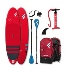 "Fanatic Fly Air 10'8"" Red 2021 Inflatable SUP Package"