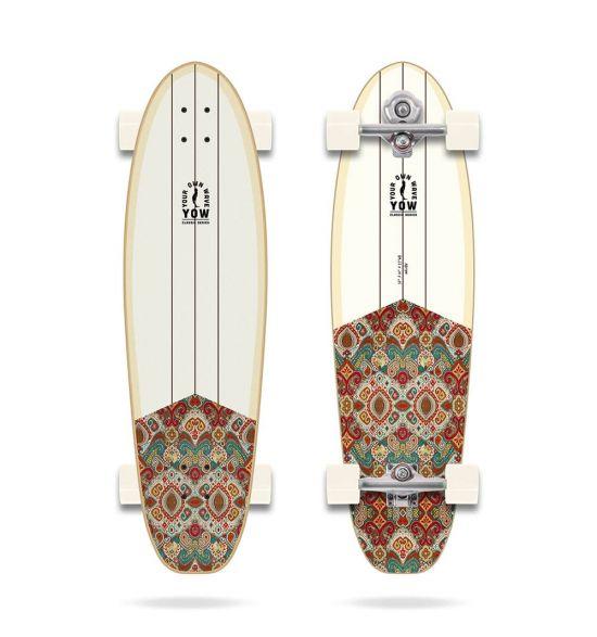 "YOW Malibu_ 36"" Classic Series Surfskate"