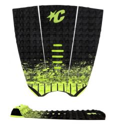 Creatures of Leisure Mick Fanning Black Fade Lime traction pad