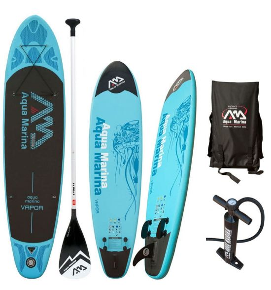 "AQUAMARINA Vapor 10'10"" Inflatable SUP Package"
