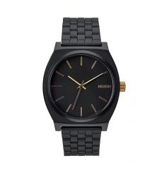 NIXON Time Teller 37mm Matte Black / Gold