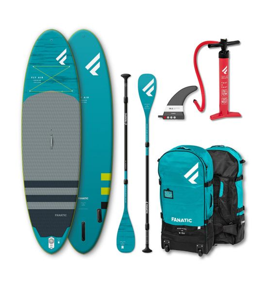 """Fanatic Fly Air Premium/C35 10'8"""" 2020 SUP package"""